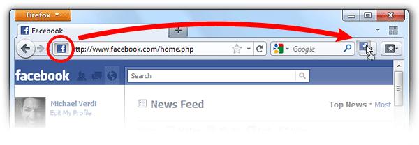 Change Firefox start page